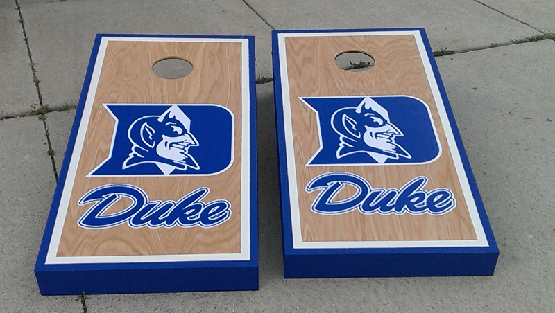 Duke Blue Devils Cornhole Boards