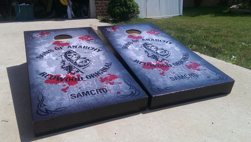 Sons of Anarchy Cornhole Set