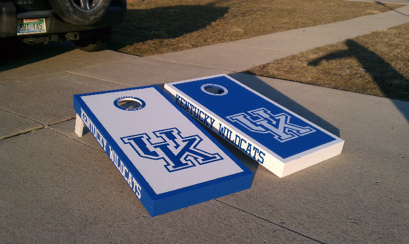 Kentucky Wildcats Cornhole Boards