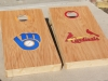 Brewers/Cardinals Cornhole Boards