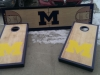 Michigan Cornhole and Beer Pong Table
