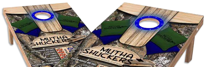 Mutha Shuckers Custom Boards