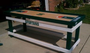 Michigan State Beer Pong Table