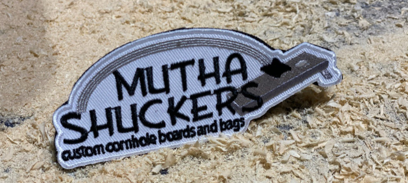Mutha Shuckers Velcro Patches